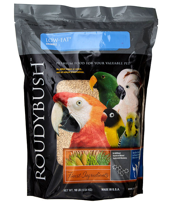 Roudybush Low Fat Maintenance Crumbles 44oz