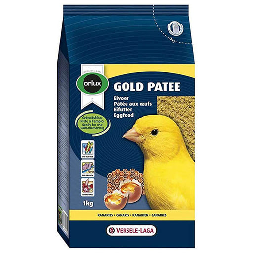 Orlux Gold Patee Canary Egg Food 1kg