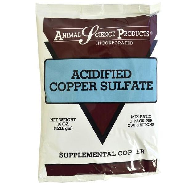 Acidified Copper Sulfate 16oz