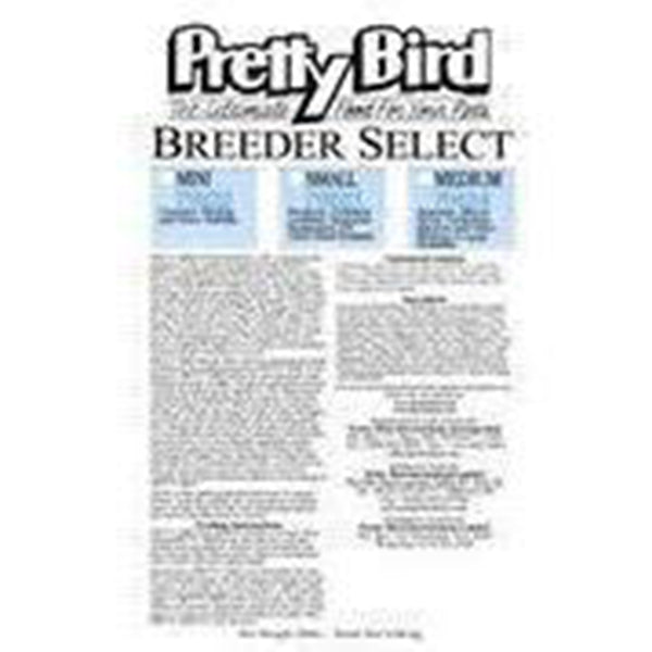 Pretty Bird Breeder Select Medium (Cockatoo Amazon) 20lb