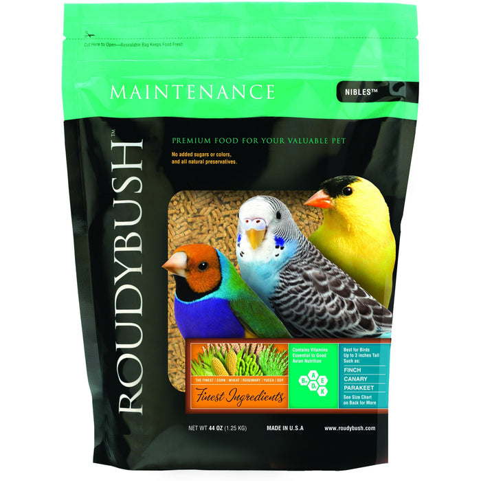 Roudybush Daily Maintenance Nibbles 10lb