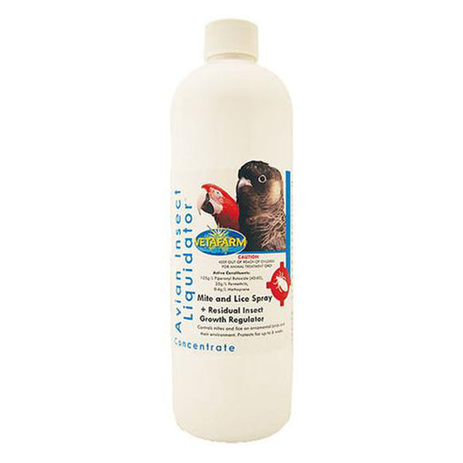 Vetafarm Avian Insect Liquidator Concentrate 500ML