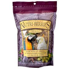 Lafeber Nutri-Berries Senior Bird Macaw and Cockatoo 10oz