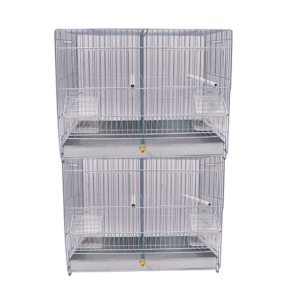 Abba Small Stackable Metal Double Breeding Cage