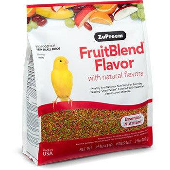 Zupreem Fruit Blend Very Small Bird (Canaries and Finches) 2lb