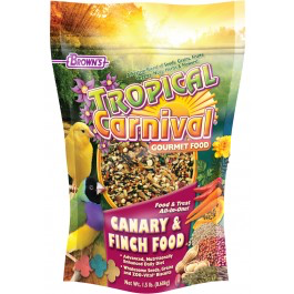 Browns Tropical Carnival Gourmet Canary and Finch 1.5lb