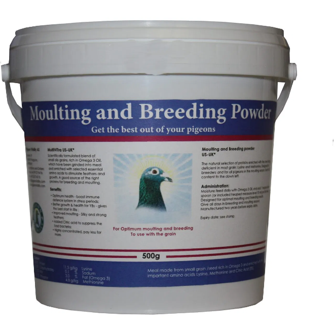Moulting and Breeding Powder™- Pigeon Vitality