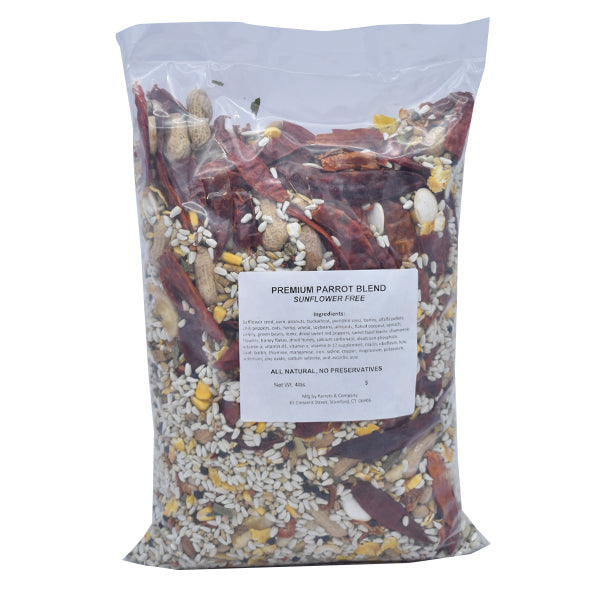 New England Premium Parrot Blend No Sunflower 4lb