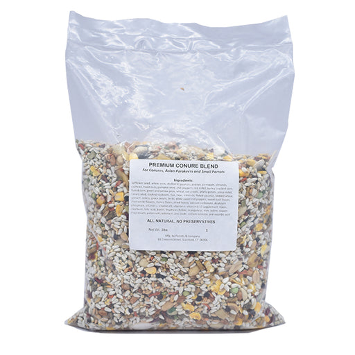 New England Premium Conure Blend No Sunflower 3lb