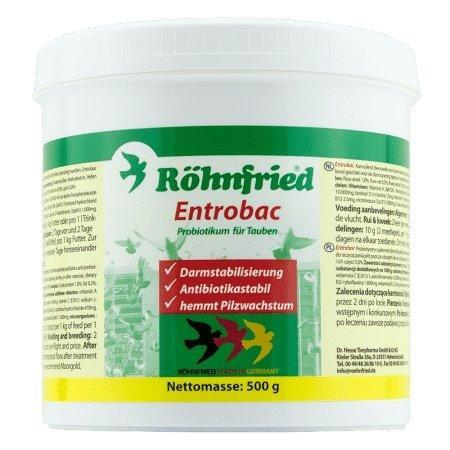 Rohnfried: Entrobac 600g - New York Bird Supply