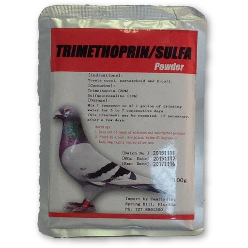 Trimethoprin/ Sulfa