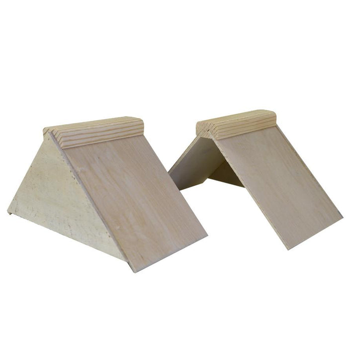 V-Shape Wooden Perches