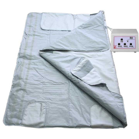 Heat Sauna Blanket With 3 Zone Controller