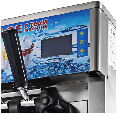 3 in 1 Commercial Ice Cream Maker Machine – 3 Flavors