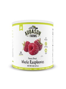 Freeze Dried Whole Raspberries - Carolina Readiness, dooms day prepper supplies online