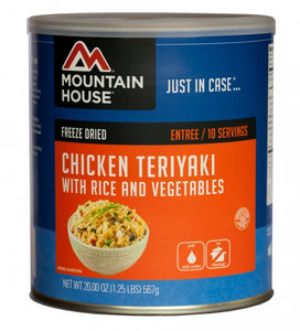 Chicken Teriyaki with Rice - Carolina Readiness, dooms day prepper supplies online