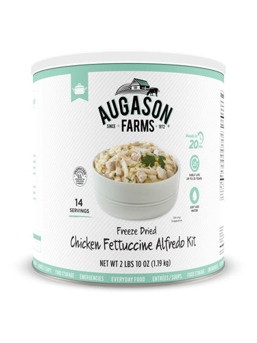 Chicken Fettuccine Alfredo - Carolina Readiness, dooms day prepper supplies online
