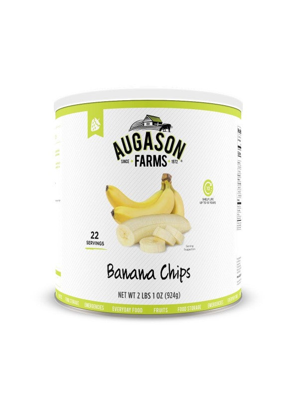 Banana Chips - Carolina Readiness, dooms day prepper supplies online