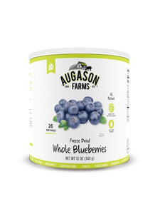Freeze Dried Whole Blueberries - Carolina Readiness, dooms day prepper supplies online
