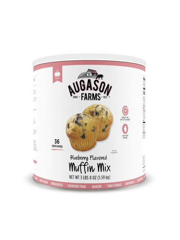 Blueberry Muffin Mix - Carolina Readiness, dooms day prepper supplies online