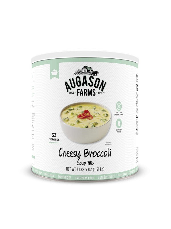 Cheesy Broccoli Soup Mix - Carolina Readiness, dooms day prepper supplies online