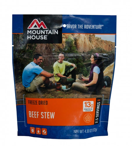 Freeze Dried Beef Stew - Carolina Readiness, dooms day prepper supplies online