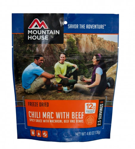 Chili Mac with Beef - Carolina Readiness, dooms day prepper supplies online