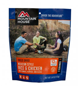 Mexican Style Rice & Chicken - Carolina Readiness, dooms day prepper supplies online