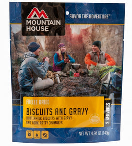 Biscuits & Gravy Pouch - Carolina Readiness, dooms day prepper supplies online