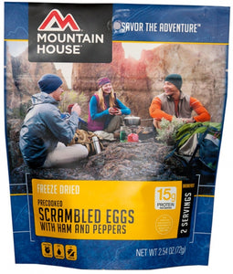 Scrambled Eggs with Ham & Peppers - Carolina Readiness, dooms day prepper supplies online