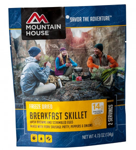 Breakfast Skillet - Pouch - Carolina Readiness, dooms day prepper supplies online