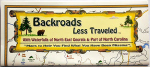 Backroads Less Traveled Map - Carolina Readiness, dooms day prepper supplies online
