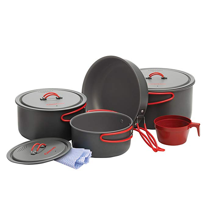 Aluminum Cookset - Carolina Readiness, dooms day prepper supplies online