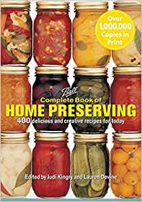 Ball Complete Book of Home Preserving - Carolina Readiness