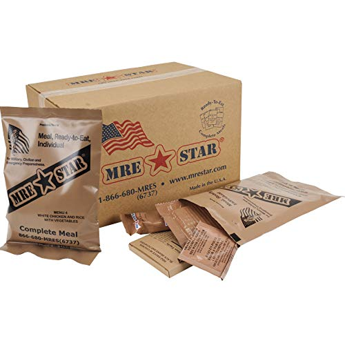 MRE Full Case with Heater - Carolina Readiness, dooms day prepper supplies online