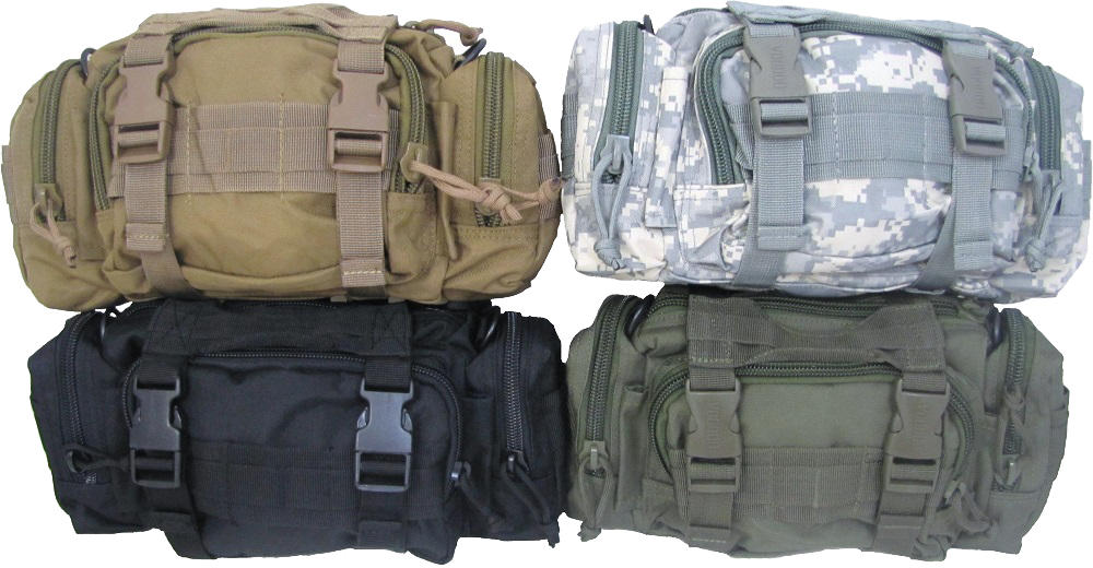 Rapid Response Bag - Empty - Carolina Readiness, dooms day prepper supplies online