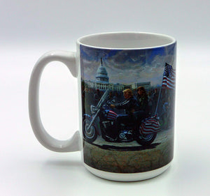 Trump Mug - The Ride - Carolina Readiness, dooms day prepper supplies online