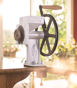 Country Living Grain Mill, includes Corn Auger - Carolina Readiness, dooms day prepper supplies online