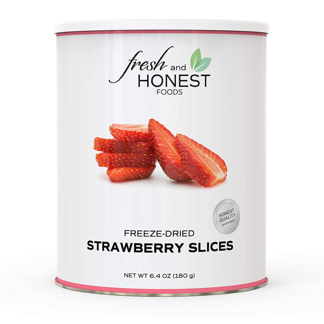 Strawberry Slices - Carolina Readiness, dooms day prepper supplies online