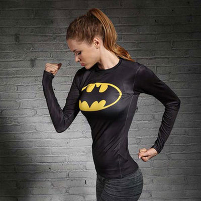 BATMAN Compression Shirt for Women (Long Sleeve)