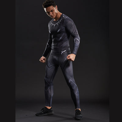 BLACK PANTHER Compression Leggings/Pants for Men