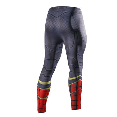 IRON SPIDERMAN Compression Leggings/Pants for Men