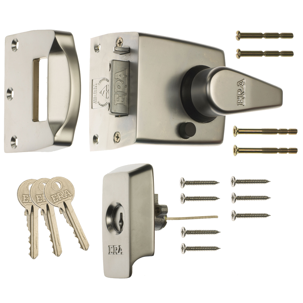 ERA 1530 & 1730 BS8621:2004 Auto Deadlocking Escape Nightlatch