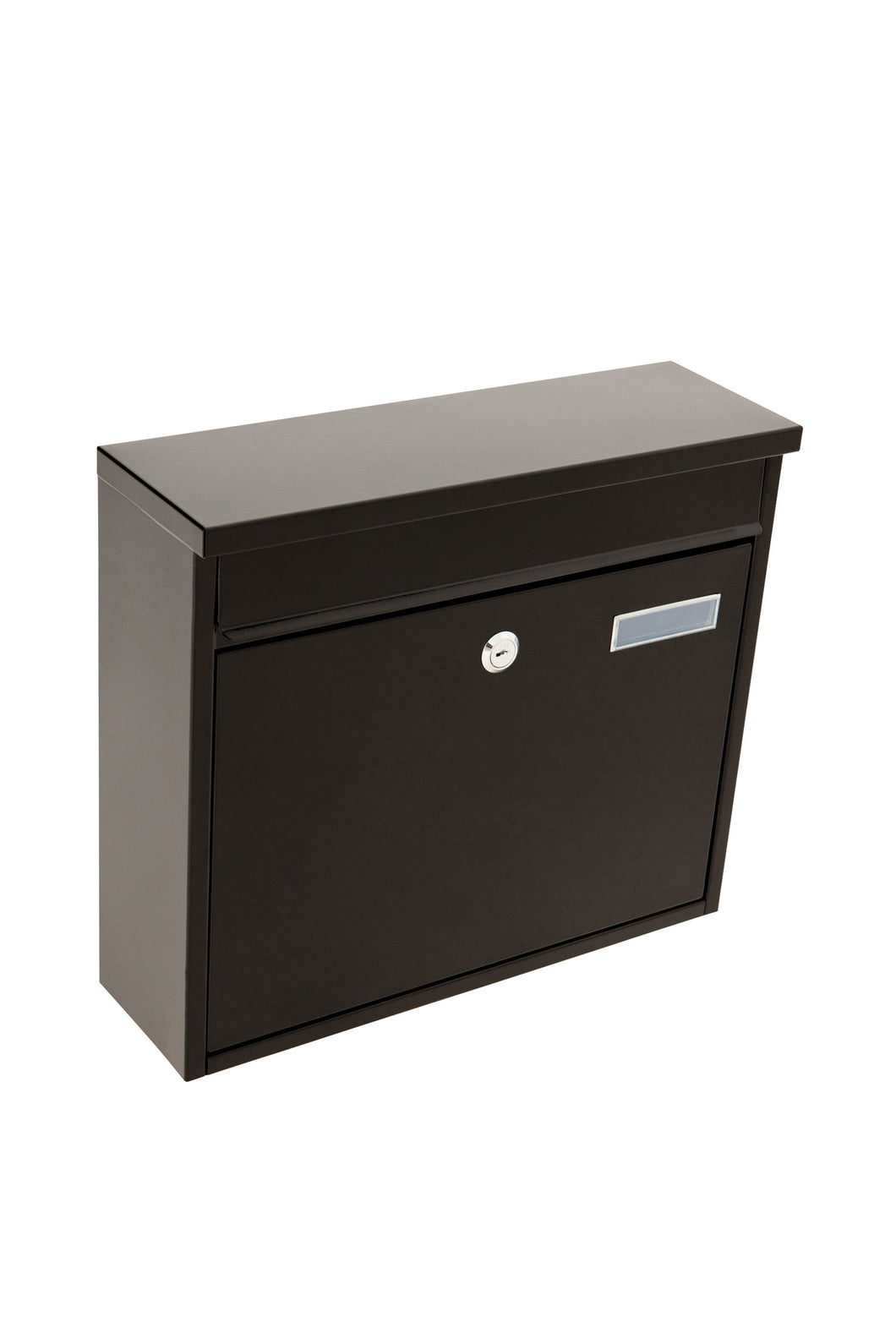 Barrow letterbox black front loading