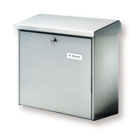 Comfort Stainless Steel Letterbox