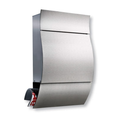 Opera Stainless Steel Letterbox