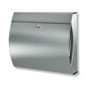 Verona Stinaless Steel Letterbox