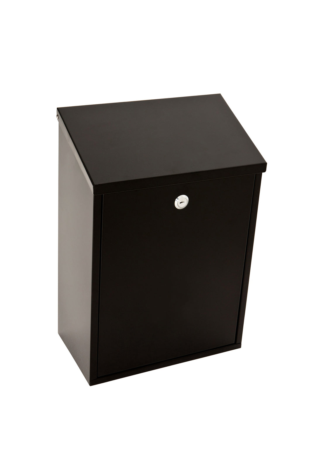 Erne Black Top Loading Letterbox