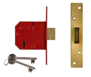 Union 2101 5 Lever Deadlock 67mm