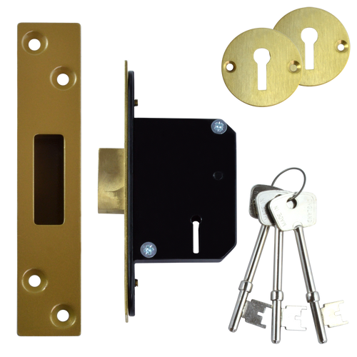 WILLENHALL LOCKS M8 5 Lever Deadlock